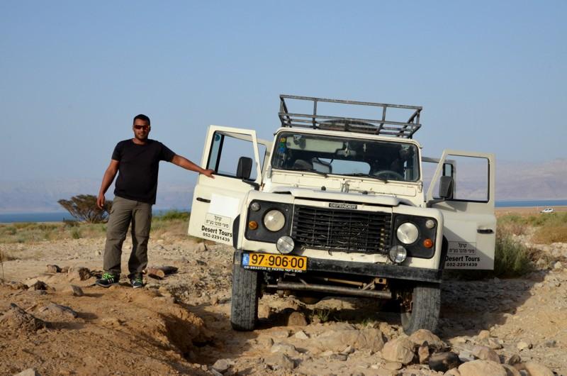 Jeeptour mit dem Beduinen durch die Wüste Negev