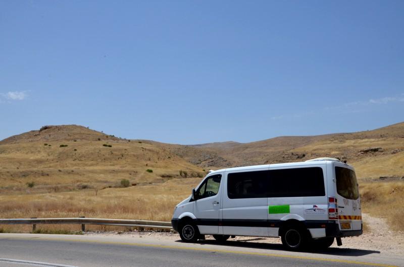 Durch die Wüste Negev