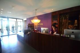 Der Wellnessbereich Cocon Spa im Hotel Seerose Resort & Spa am Hallwilersee
