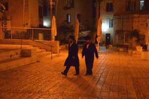 Jerusalem by night - im jüdischen Viertel