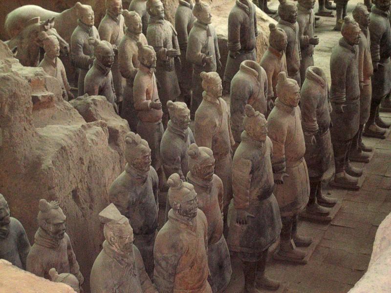 UNESCO Weltkulturerbe Terrakottaarmee Xian