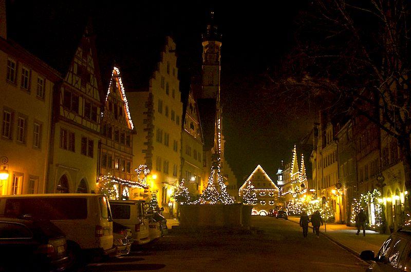 Rothenburg ob der Tauber Weihnachtsstadt Reiterlesmarkt
