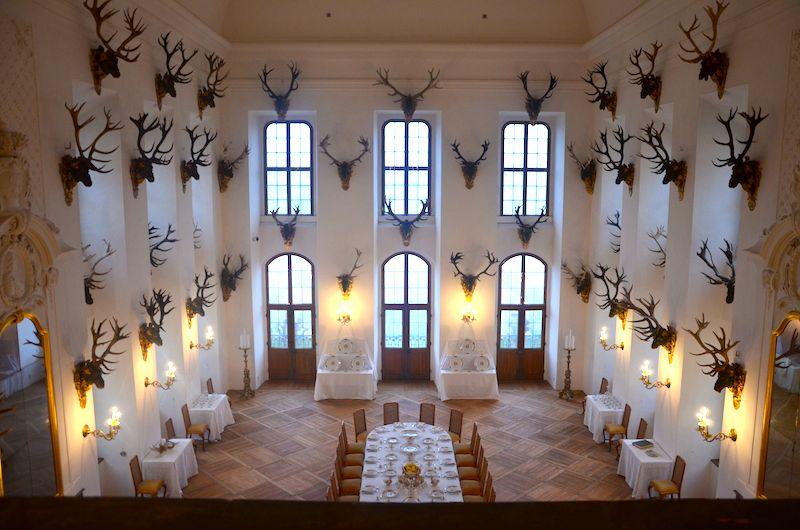 Schloss Moritzburg Dresden - Drehort 3 Haselnüsse für Aschenbrödel