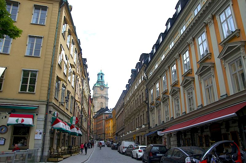 unterwegs in Stockholm