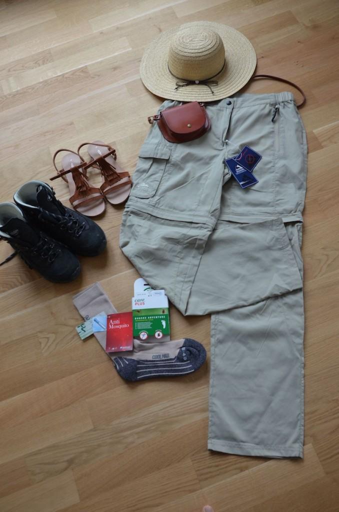 Safari Outfit für Tansania