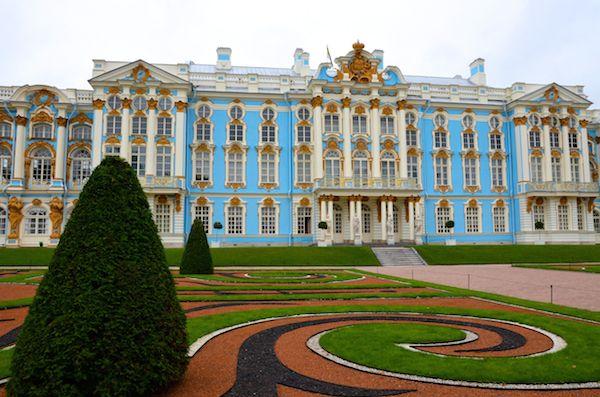 St. Petersburg Katharinenpalast Bernsteinzimmer