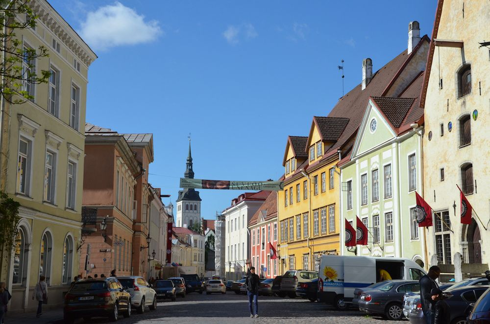 Video: unterwegs in Tallinn