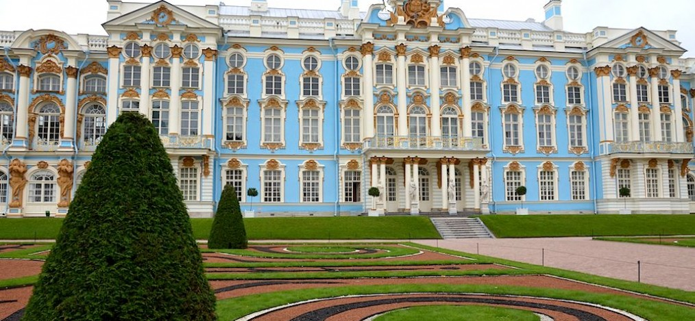 St. Petersburg Katharinenpalast und Bernsteinzimmer in Puschkin