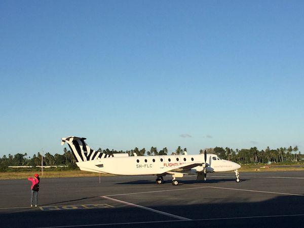Vom Flughafen Arusha nach Sansibar mit der Propellermaschine