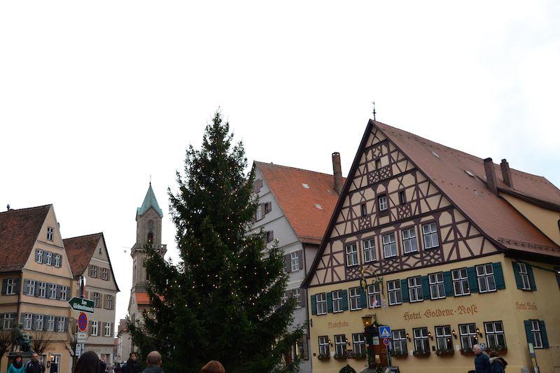 Schönster Weihnachtsmarkt Deutschland 2019.Weihnachtsmarkt Dinkelsbühl In Franken Schöne Altstadt