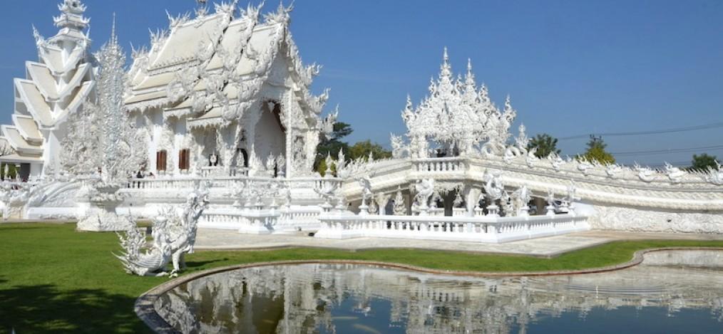 Der Weiße Tempel von Chiang Rai - Wat Rong Khun