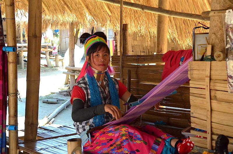 Karen Langhalsfrauen Nordthailand