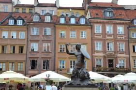 Städtetrip Warschau Marktplatz Warschau