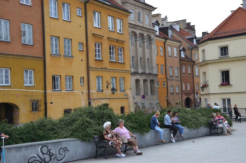 Marktplatz Warschau