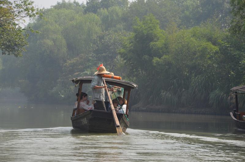 Xixi Wetland Nationalpark Hangzhou