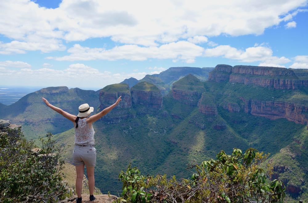 Südafrika, Panoramaroute, 3 Rondavels