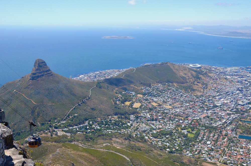 Südafrika - Kapstadt - Table Mountain