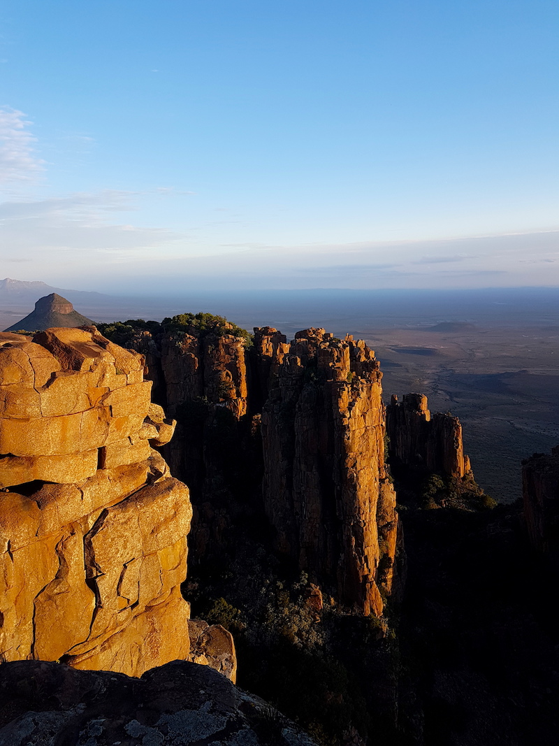 Valley of Desolation Graaff Reinet -Südafrika