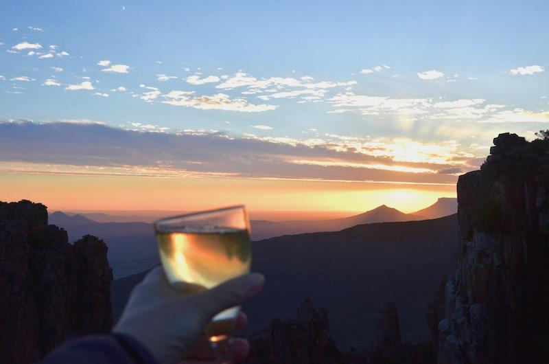 Valley of Desolation Graaff Reinet -Südafrika