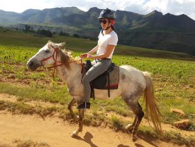 Ponytrekking in Lesotho