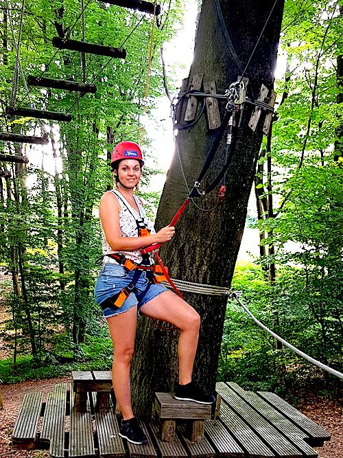 Teuto Kletterpark im Teutoburger Wald
