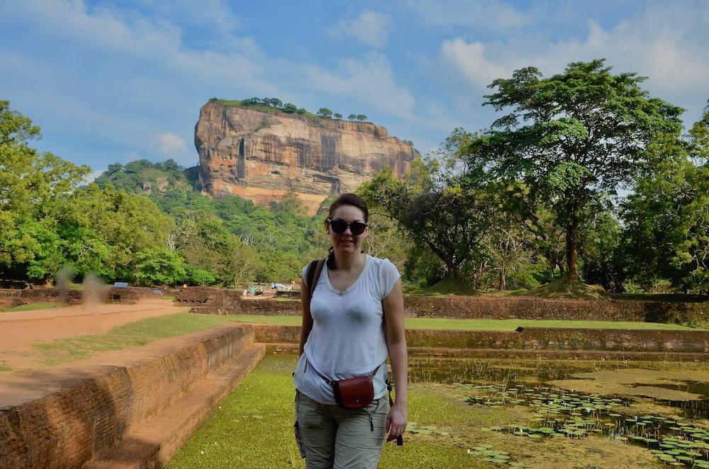 Löwenfelsen Sigiriya Sri Lanka