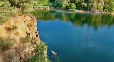 Hessen: Vogelsberger See