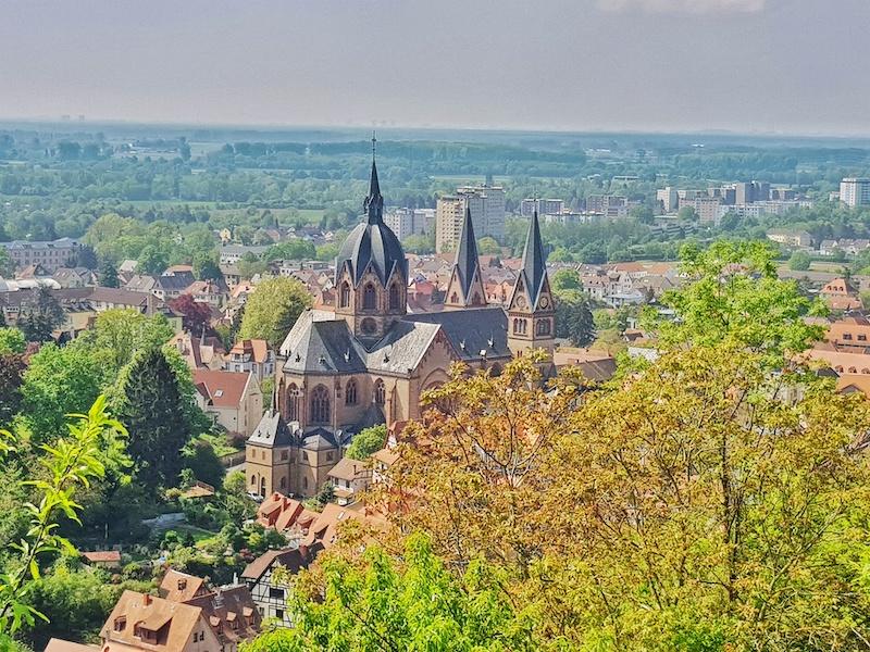die schönsten Orte in Hessen Bergstraße
