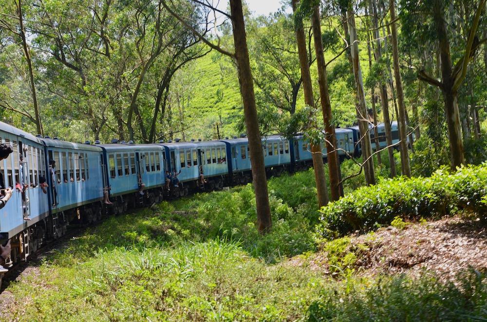 Zugfahrt Kandy - Nuwara Eliya