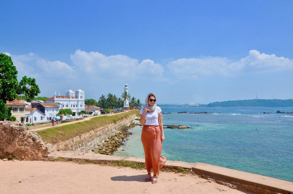 Sri Lanka Reiseroute - Galle