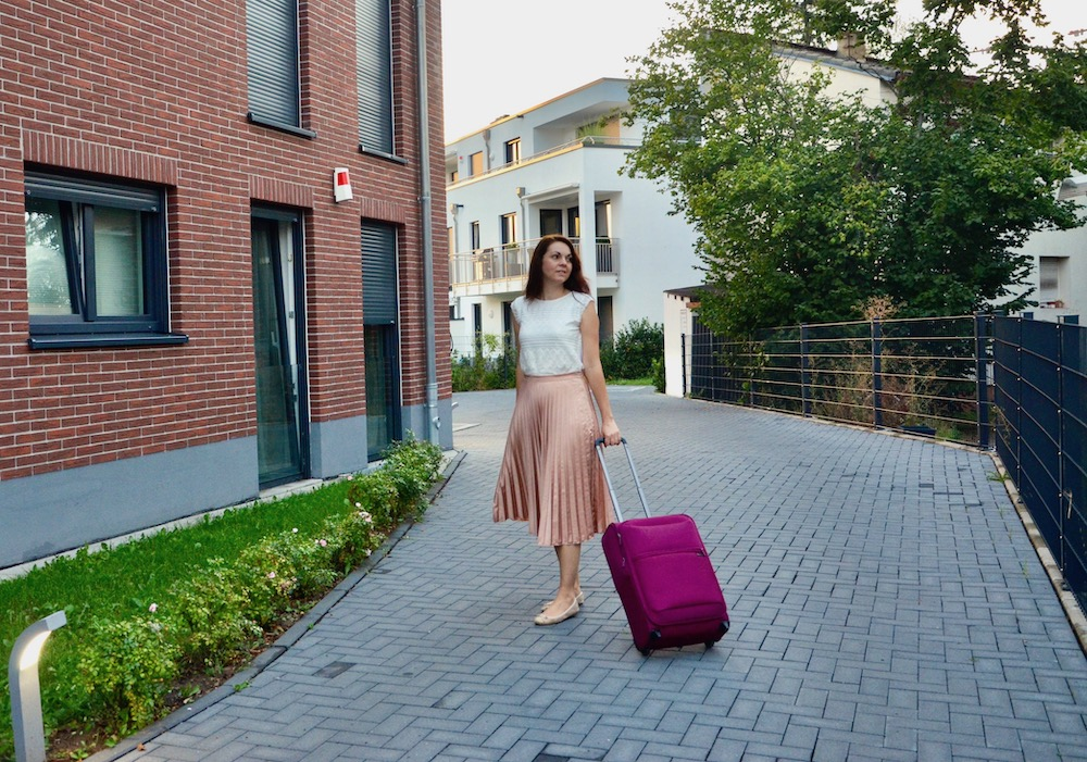Reisen mit Handgepäck
