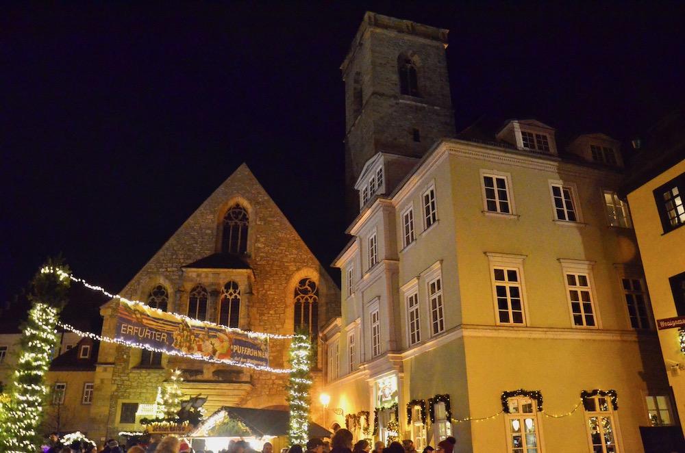 Puffbohnen Weihnachtsmarkt Erfurt