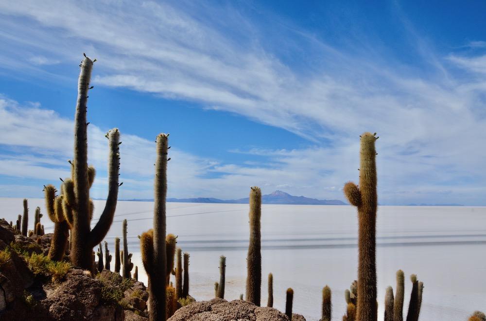 Reiseroute Peru - Bolivien - Chile