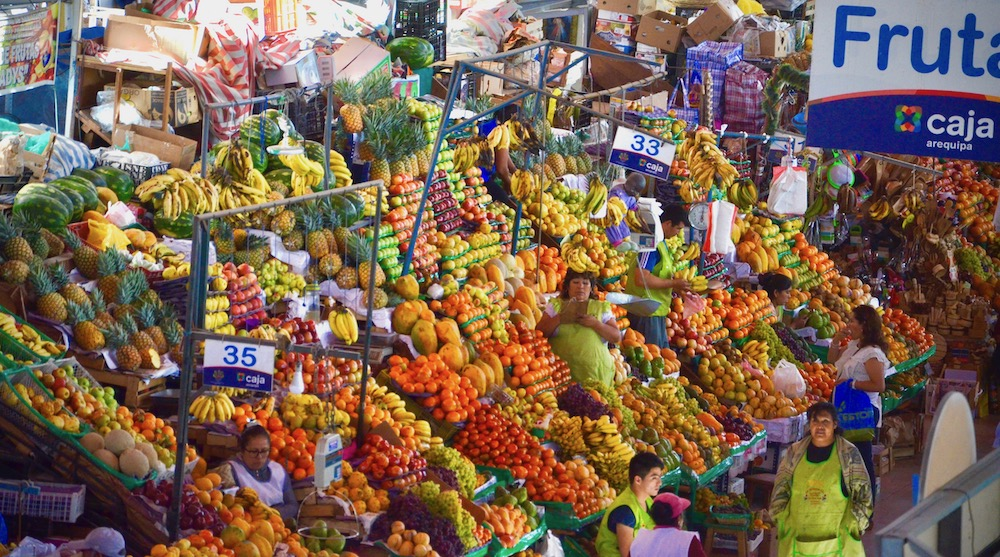 San Camillo Markt