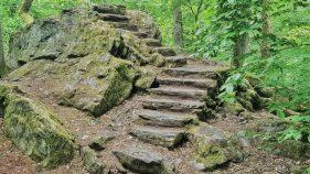 3 Burgen Wanderweg Bürgelplatte
