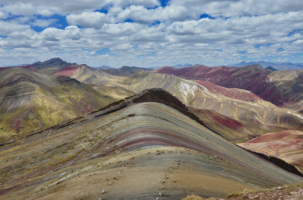 Palccoyo Rainbow Mountains